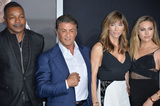 Carl Weathers Photo - Actor Sylvester Stallone  wife Jennifer Flavin  daughters Sophia Rose Stallone with actor Carl Weathers at the Los Angeles World premiere of Creed at the Regency Village Theatre WestwoodNovember 19 2015  Los Angeles CAPicture Paul Smith  Featureflash