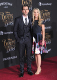 Angela Jones Photo - HOLLYWOOD CA - MARCH 2 (L-R) Actor Matthew Lewis and Angela Jones attend Disneys Beauty And The Beast World Premiere at El Capitan Theatre on March 2 2017 in Hollywood California  (Photo by Barry KingImageCollectcom)