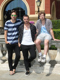 Albert Hall Photo - LondonUK    Busted - Charlie Simpson Matt Willis and James Bourne from Busted    attend a photocall to announce new UK tour dates in October 2017 at the Royal Albert Hall London on June 20th 2017RefLMK373-S371-210617Keith MayhewLandmark Media WWWLMKMEDIACOM