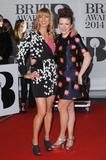 Annie Mac Photo - London UK  Sara Cox and Annie Mac    at the The BRIT Awards with MasterCard 2014 Red Carpet arrivals at the 02 Arena London 19th February 2014  RefLMK200-47702-200214Landmark MediaWWWLMKMEDIACOM