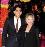 Dev Patel Photo - London UK Dev Patel and Penelope Wilton at The Best Exotic Marigold Hotel Film Premiere held at Curzon Mayfair 7th February 2012SydLandmark Media