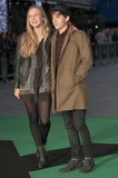 Tom Holland Photo - London UK Tom Holland and guest at the World Premiere of his Debut Concert Film Jumpers For Goalposts  at  The Odeon Cinema London England UK on 22 October 2015Ref LMK370-58370-231015Justin NgLandmark Media WWWLMKMEDIACOM
