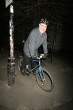 Alexis Sayle Photo - London Alexi Sayle cycling to the Ivy Restaurant 14 March 2005FlashburstLandmark Media