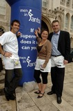 Arabella Weir Photo - London UK Pat Cash Arabella Weir and Eric Peters take part in launch of  male cancer charitys fundraising day Man in Pants at the Guildhall Yard 15th May 2007 Ali KadinskyLandmark Media