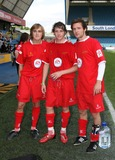 Harry Judd Photo - London UK McFly  (L-R   Tom Fletcher Danny Jones and Harry Judd ) at the Music Industry Soccer Six  held at Millwall FCs New Den ground in London 18th May  2008Keith MayhewLandmark Media