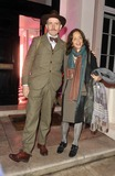 Jimmy Choo Photo - London UK  Billy Childish and guest at the  Jimmy Choo hosts dinner in honour of artist Rob Pruitt at No 35 Belgrave Square London 11th October 2012 Keith MayhewLandmark Media