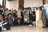 Tony Leung Photo - Cannes France Jackie Chan Kim Hee-Seon Tony Leung K Fai Mallika Sherawat and director Stanley Tong at the photocall for the movie THE MYTH at the Cannes Film Festival17 May 2005Paulo PirezLandmark Media