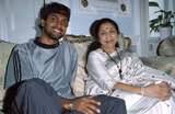 Asha Bhosle Photo - LondonApache Indian and Asha Bhosle11th September 2000Picture by Trevor MooreLandmark Media