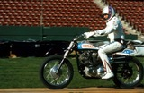 Evel Knievel Photo - Evel Knievel LA Coliseum 1973 Set 26969 Photo by Globe Photos
