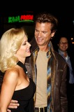Lorenzo Lamas Photo - K47085MGActress Barbara Moore and actor Lorenzo Lamas pose for photographers during the premiere of the new movie from Warner Bros Pictures FIREWALL held at Graumans Chinese Theatre on February 2 2006 in Los Angelesphoto Michael Germana  Globe Photos Inc  2006