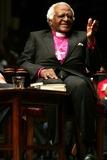 Archbishop Desmond Tutu Photo - Archbishop Desmond Tutu at the Trinity Church to Discuss Rabble Rouser For Peace the Authorized Autobiography of Desmond Tutu Broadway and Wall Street New York City 10-18-2006 Photo Rick Mackler  Rangefinders  Globe Photos Inc