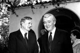 James Stewart Photo - John Wayne and James Stewart 1978 Bob NobleGlobe Photos Inc