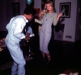 Goldie Photo - Sammy Davis Jrgoldie Hawn Photo Nate CutlerGlobe Photos Inc