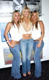 Brande Roderick Photo - Playmate Artist Victoria Fuller Art Exhibition at the Wentworth Gallery at the Grove Los Angeles CA 03182004 Photo by Miranda ShenGlobe Photos Inc 2004 Brande Roderick and Twins Vicky and Ricki Mongeon