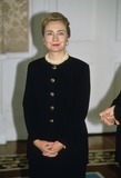Bill Clinton Photo - Hillary Clinton at Aras an Uachtarain  Ireland During Pres Bill Clinton Visits 1995 Photo by Alpha-Globe Photos Inc