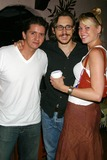 Chad Donella Photo - Hate Crime Los Angeles Photocall the Gardens of Taxco West Hollywood CA 07-14-2005 Photo Clintonhwallace-photomundo-Globe Photos Inc Esteban - Owner of Taxco Chad Donella and Girlfriend