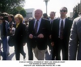Carroll OConnor Photo -  Carroll Oconnor at West Los Angeles Court For Hearing of Harry Perzigian Photo by Lisa RoseGlobe Photos Inc