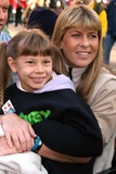 Terry Irwin Photo - Macys Thanksgiving Day Parade Dated 11-22-07 Photos by John Barrett-Globe Photosinc K55682jbb Bindi and Terri Irwin