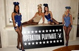 Vanessa Gleason Photo - K29724FB OPERATION PLAYMATE LAUNCHED BY PLAYBOYPLAYMATES IN BEVERLY HILLS CA THE PLAYMATES ARE MODELING EXCLUSIVE PLAYBOYBUNNY MILITARY OUTFITS3282003 PHOTO BY FITZROY BARRETT  GLOBE PHOTOS INC 2003NEFERTERI SHEPHERD SHAUNA SAND VANESSA GLEASONAND STEPHANIE HEINRICH