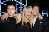 Alexander Wang Photo - Alexander Wang Spring 2014 Fashion Show Front Row Celebrities Pier 94 NYC September 7 2013 Photos by Sonia Moskowitz Globe Photos Inc 2013 Courtney Love Harry Brant Peter Brant Jr