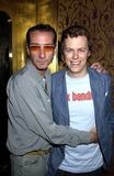 Robert Hanson Photo - DAVE BENETTALPHA 047737 02052002 LONDONROBERT HANSON AND TOM PARKER BOWLES-NEW YORK SOCIALITE PARIS HILTON CELEBRATED HER NEW MOVIE AND HER 21ST BIRTHDAY WITH DINNER AT DRONES THEN PARTY AT THE STORK ROOMS IN WALLOW ST WHERE SHE MANAGED TO DANCE THE NIGHT AWAY EVEN AFTER TRIPPING OVER HER 6 INCH HEELS SHE THEN CONSOLED HERSELF BY CHANGING IN ANOTHER DRESS THIS ONE WAS MORE COMFORTABLECREDIT DAVE BENETTALPHAGLOBE PHOTOS INC