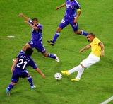 Akira Kaji Photo - World Cup Soccer Japan Vs Brazil 06-22-2006 Photo Stewart Kendall  Allstar  Globe Photos Inc 2006 Ronaldo Akira Kaji  Keisuke Tsuboi