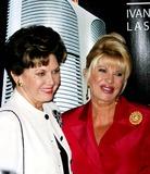 Aja Zanova Photo - Ivana Trump Launches the  Ivana Las Vegas Project  at Club Fizz in New York City 8-17-2005 Photo by Rick Mackler-rangefinder-Globe Photosinc Ivana Trump_aja Zanova-steindler