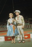 Roy Rogers Photo - Roy Rogers with Dale Evens at the Circus Supplied by Globe Photos Inc