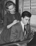 Tuesday Weld Photo - Rick Nelson with Tuesday weld1959photo by smp-globe Photos Inc