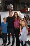 Presley Gerber Photo - Presley Gerber Rande Gerber Cindy Crawford and Kaya Gerber during the World Premiere of IRIS  A Journey Into The World of Cinema by Cirque du Soleil held at the Kodak Theatre on September 25 2011 in Los AngelesPhoto Michael Germana  - Globe Photos inc