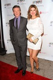 Gillian Jacobs Photo - Alan Thicke Tanya Callau Thick Attend Tj Martell Foundations 3rd Annual Artworks For the Cure Charity Event Held at the Barker Hangar October 12 2013 Santa Monicacaliforniausa Photo TleopoldGlobephotos