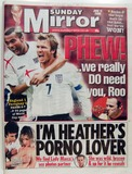 Heather McCartney Photo - The Front Page of the Sunday Mirror Newspaper (110606) As the Heather Mccartney Saga Continues in the Media - Heather Saga Continues Feature - 061934 06-12-2006 A18854 Supplied by Alpha-Globe Photos Inc