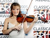 Nicola Benedetti Photo - Nicola Benedetti Classical Brits Awards 2005 - Royal Albert Hall London Uk 5-25-2005 Photo Byjohn Marshall-globelinkuk-Globe Photos Inc 2005