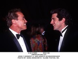 ARNOLD SCHWARZENEGER Photo - Sd5195 American Ballet John F Kennedy Jr and Arnold Schwarznegger Photo by Sonia Moskowitz  Globe Photos Inc