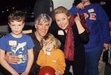 David Canary Photo - David Canary with Family L5742eg All My Children Cast Photo by Ed Geller-Globe Photos Inc