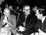 Alberto Sordi Photo - Retrospective of Nino Manfrediitalian Actor Who Died Today Ay the Age of 83 Years Old Here Director Luigi Comencini and Italian Actors Nino Manfredi and Alberto Sordi in 1980 Nino Manfredi Ninomanfrediretro Photo BylapresseGlobe Photos Inc