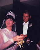 Troy Donahue Photo - Suzanne Pleshette Wedding to Troy Donahue 01-04-1964 Photo by Globe Photos