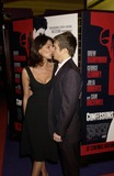 Gina Bellman Photo - Dave BenettalphaGlobe Photos Inc 050599 17022003 Gina Bellman and Sam Rockwell -Confessions of a Dangerous Mind the Movie That Marks the Directorial Debutpremiered in London Last Nightand the Party Was at Elyceum at the Cafe Royal 02172003
