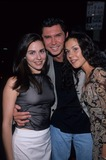 Cara Buono Photo - Cara Buono with Lou Diamond Phillips and Marisa Rudiak in a Class of His Own Premiere Writers Guild Theatre in Beverly Hills 1999 K16748tr Photo by Tom Rodriguez-Globe Photos Inc