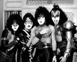 Ace Frehley Photo - Eric Carr  Ace Frehley  Paul Stanley  Gene Simmons ( Kiss ) 12-1982 Photo by Uppa-ipol-Globe Photos Inc