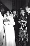 Michael Cole Photo - Michael Cole Paula Dickinson Kelly Wedding 1971 Supplied by Globe Photos Inc