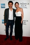ERIC MCCORMACK Photo - Eric Mccormack and Jennifer Morrison Arrive For the Tribeca Film Festival Premiere of Knife Fight at Bmcc Tribeca Pac in New York on April 25 2012 Photo by Sharon NeetlesGlobe Photos Inc