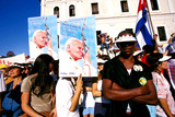 John Paul Photo - Sd0198 Pope John Paul Ii Visit to Havana Cuba Photo Lynsey Addario  Globe Photos Inc 1998