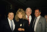 Sidney Sheldon Photo - Marty Allen Dyan Cannon Sidney Sheldon Geoff Edwards 1987 Photo by Michelson-Globe Photos Inc
