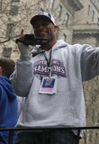 Amani Toomer Photo - Ticker Tape Parade For NY Giants Super Bowl Champions Date 02-05-08 Photos by John Barrett-Globe Photosinc Amani Toomer