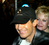 Melanie Griffith Photo - Rm Opening Weekend For the Musical Nine Eugene Oneil Theatre New York City Photorick Mackler  Rangefinder  Globe Photos Inc 2003 Sd0321 Sd0321 Antonio Banderas and Melanie Griffith