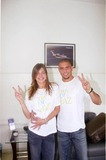 Daniela Cicarelli Photo - 20041224 Belo Horizonte Brazil Soccer Player Player Ronaldo (Real Madrid) and His Fiancee Model Daniela Cicarelli Took a Stand For a Peace Campaign Photo Sidney Lopes-cityfiles-Globe Photos