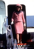 Jacqueline Kennedy Onassis Photo - Jacqueline Kennedy Onassis Arriving at Houston Texas November 1963 Globe Photosinc