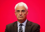 Alistair Darling Photo - Alistair Darling Mp Chancellor of the Exchequer K63328alst Addresses the Labour Party Conference 2009 at the Brighton Centre in Brighton England 09-27-2009 Photo by Dave Gadd-allstar-Globe Photos Inc