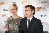 Joaquin Phoenix Photo - Actor Joaquin Phoenix and Heather Christie Arrive at the Premiere of the Master During the Toronto International Film Festival at Princes Whales Theatre in Toronto Canada on 07 September 2012 Photo Alec Michael